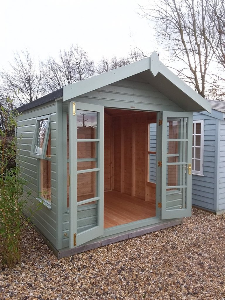 Brighton 2.4 x 2.4m Blakeney Summerhouse with double door