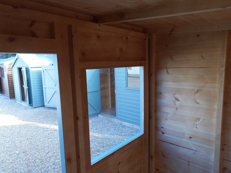 Inside the Burford 1.2 x 1.8m Classic Shed