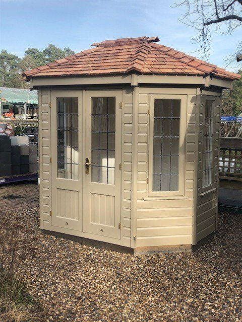 Side view of the Sunningdale 1.8 x 2.5m Wiveton Summerhouse