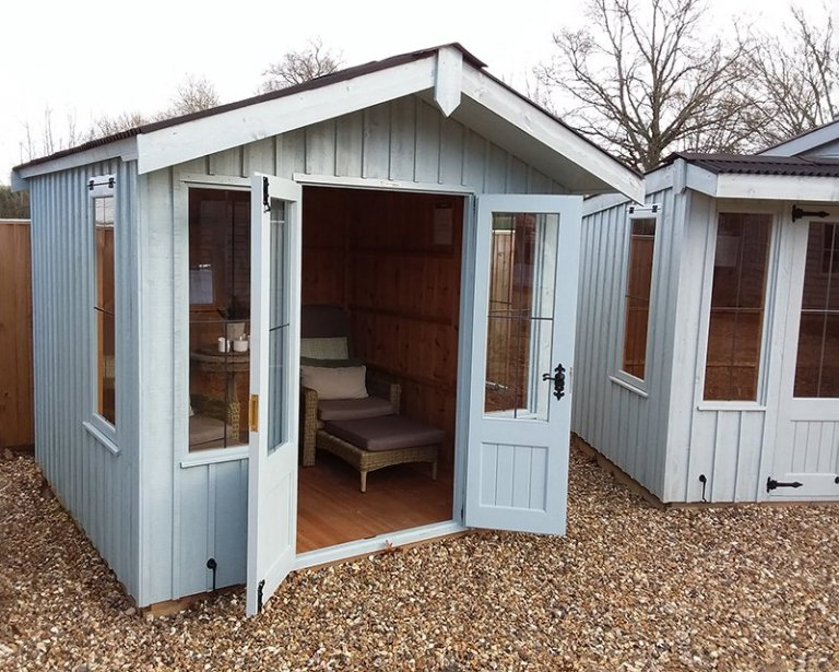 Cranleigh Ickworth 2.4 x 2.4m with furnished interior