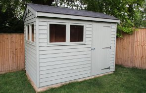 1.8 x 3.0m Apex Roof Superior Shed in Lizard
