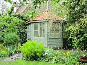 3.0 x 3.0m Wiveton Summerhouse with colour matched paint - Dulux Chive