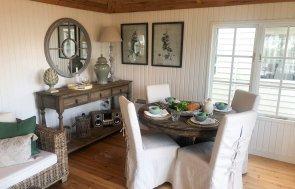 Garden Room interior - living area