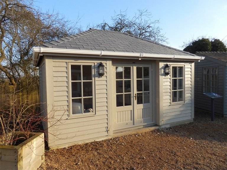Exterior of the 3.6 x 4.8m Garden Room at Burford