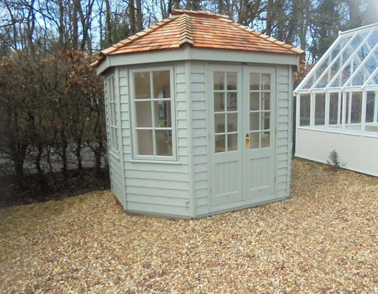 2.4 x 3.0m Wiveton Summerhouse at Newbury
