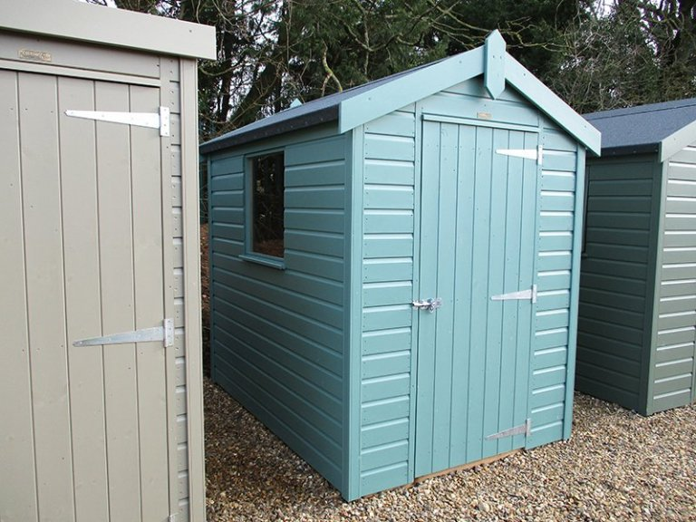 St Albans 1.5 x 2.1m Classic Shed
