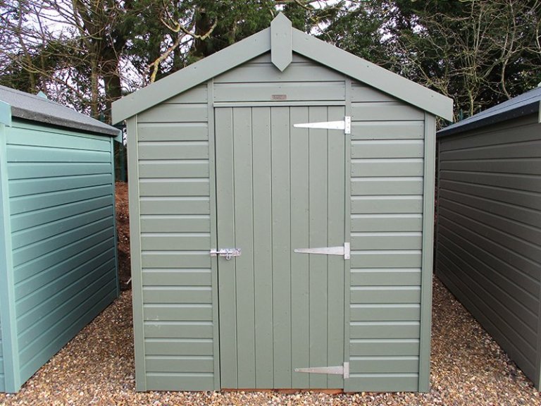 1.8 x 2.4m Classic Shed at St Albans