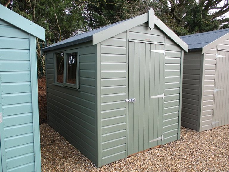 St Albans 1.8 x 2.4m Classic Shed