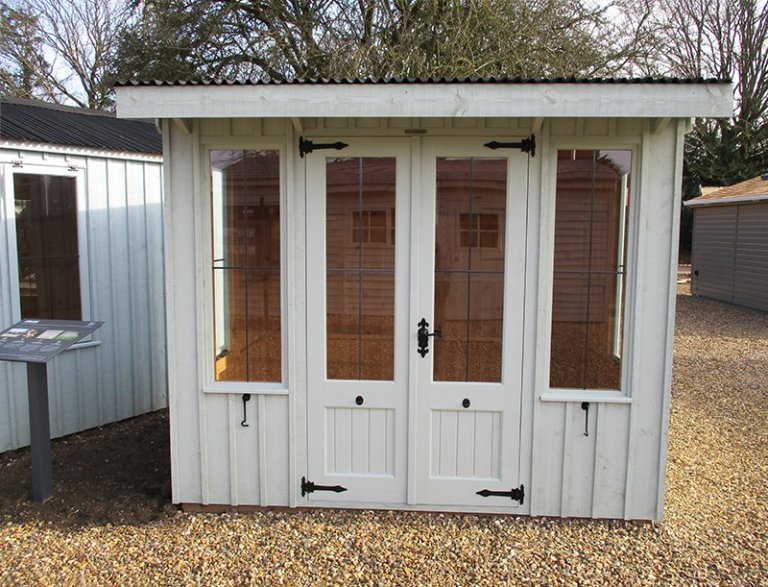 1.8 x 2.4m National Trust Flatford Summerhouse at St Albans