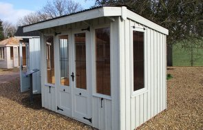 St Albans 1.8 x 2.4m National Trust Flatford Summerhouse in Disraeli Green