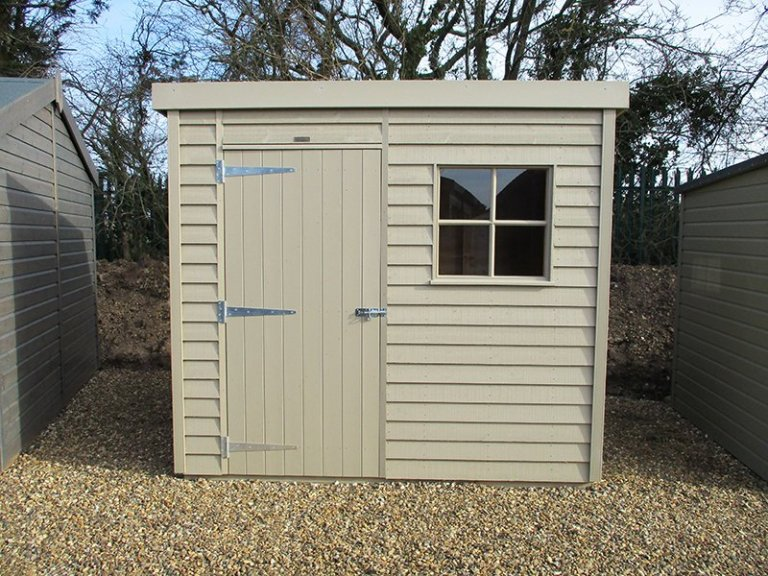 1.8 x 2.4m Weatherboard Superior Shed at St Albans
