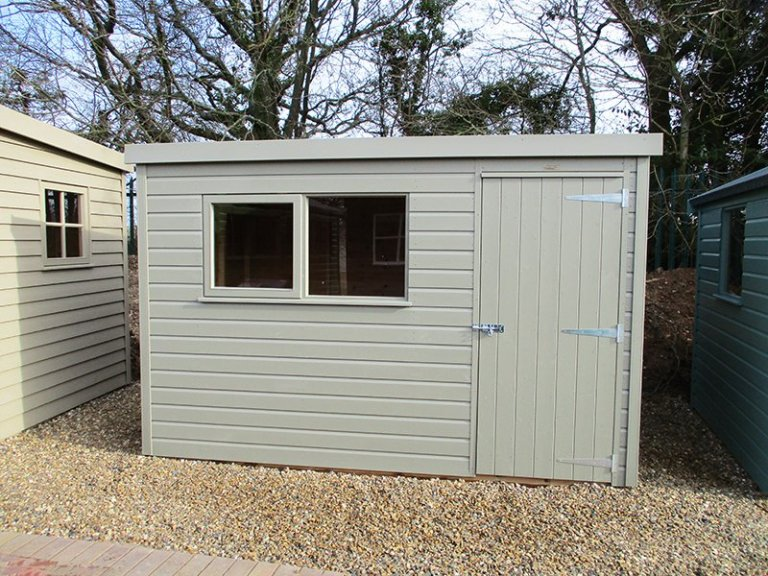1.8 x 3.0m Pent Roof Classic Shed at St Albans