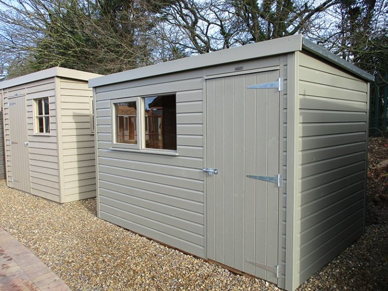 St Albans 1.8 x 3.0m Pent Roof Classic Shed