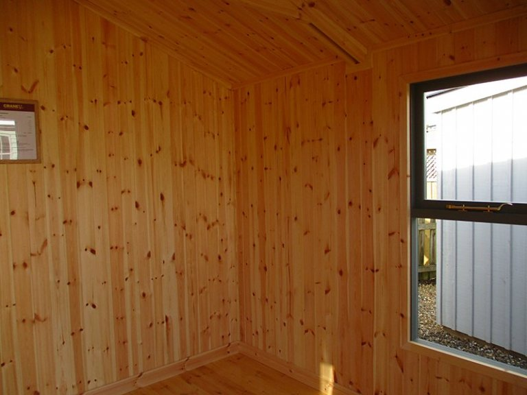 Inside the St Albans 3.0m x 2.4m Blakeney Summerhouse