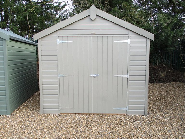 2.4 x 3.0m Apex Roof Classic Shed at St Albans