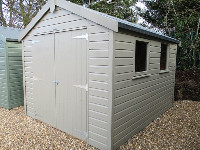 St Albans 2.4 x 3.0m Apex Roof Classic Shed