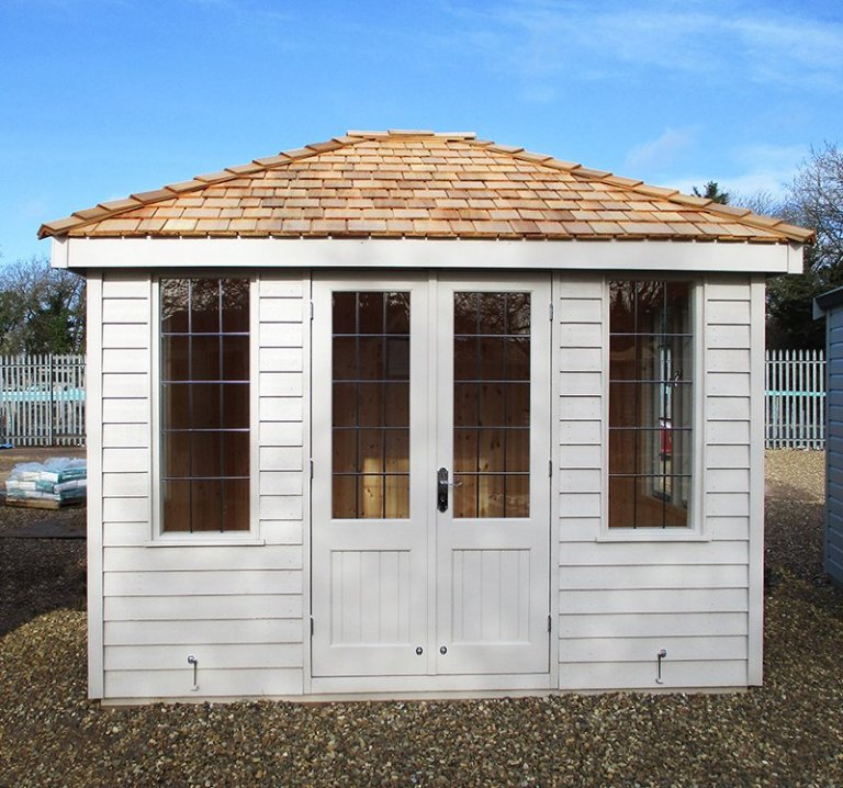 2.4 x 3.0m Cley Summerhouse at St Albans