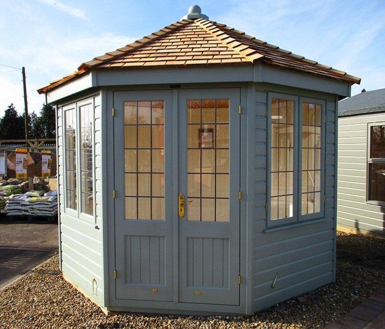 3.0 x 3.0m Wiveton Summerhouse at St Albans