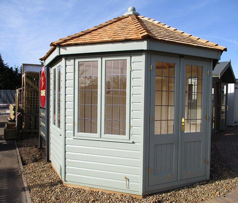 St Albans 3.0 x 3.0m Wiveton Summerhouse