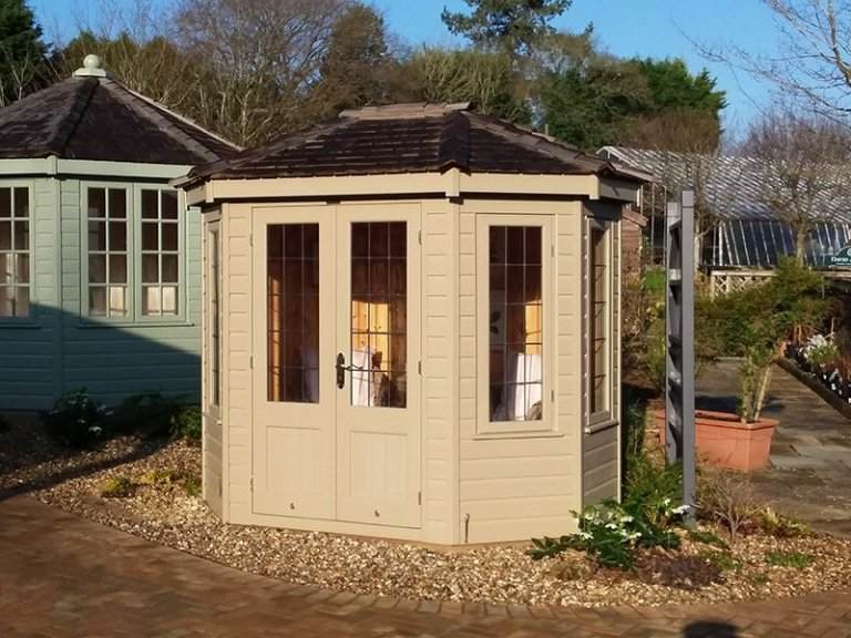 1.8 x 2.5m Wiveton Summerhouse at Cranleigh