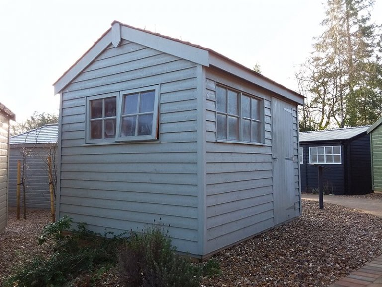 2.4 x 3.0m Weatherboard Superior Shed at Cranleigh