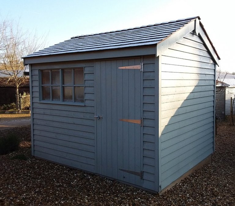 2.4 x 3.0m Weatherboard Superior Shed at Cranleigh show centre
