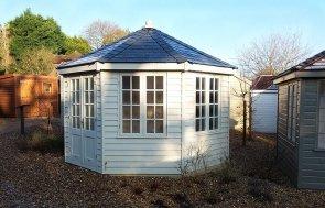Cranleigh Octagonal 3.6 x 3.6m Wiveton Summerhouse in Sandstone