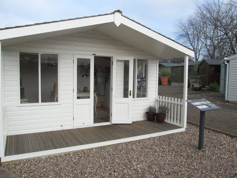 4_2 x 4_2m Nottingham Morston Summerhouse