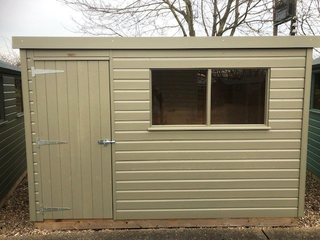 1.8 x 3.0m Pent Roof Classic Shed at Nottingham