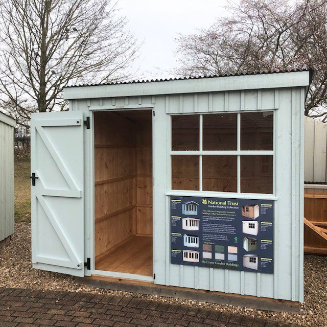 Nottingham 1.8 x 2.4m National Trust Oxburgh Shed