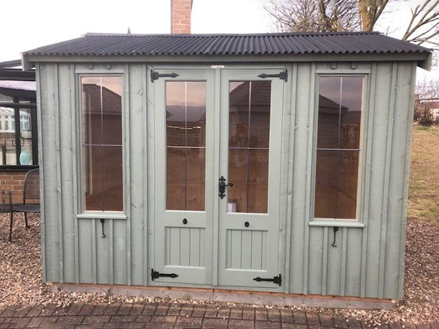 Nottingham 1.8 x 3.0m National Trust Lavenham Summerhouse