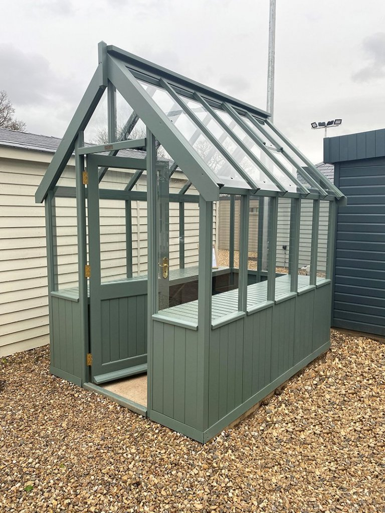 St Albans 1.8 x 2.4m Greenhouse