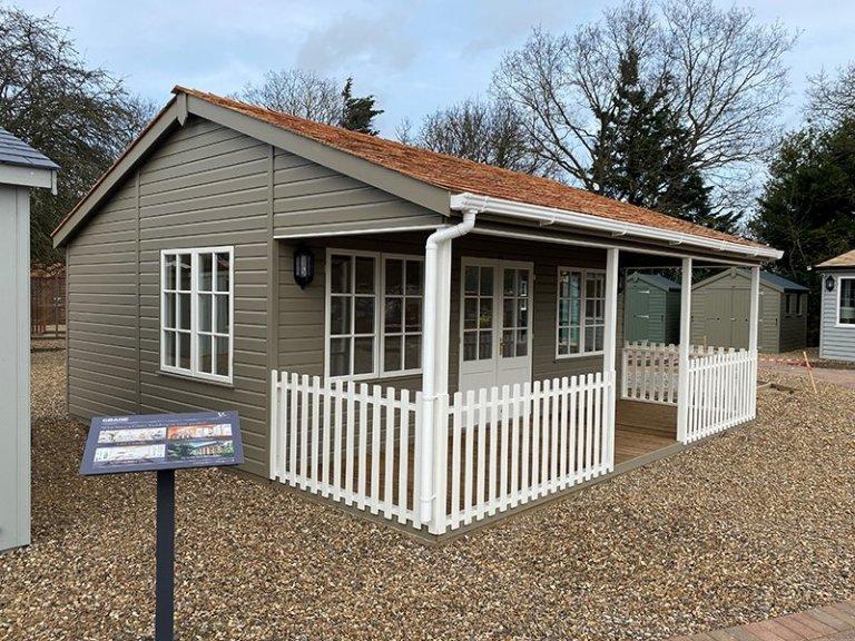 St Albans 6.0 x 6.0m Pavilion Garden Room with Veranda