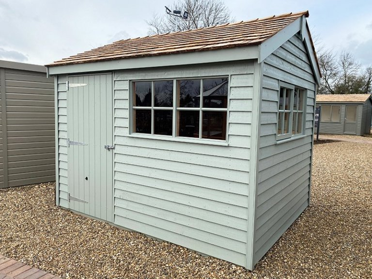 2.4 x 3.0m Weatherboard Superior Shed at St Albans