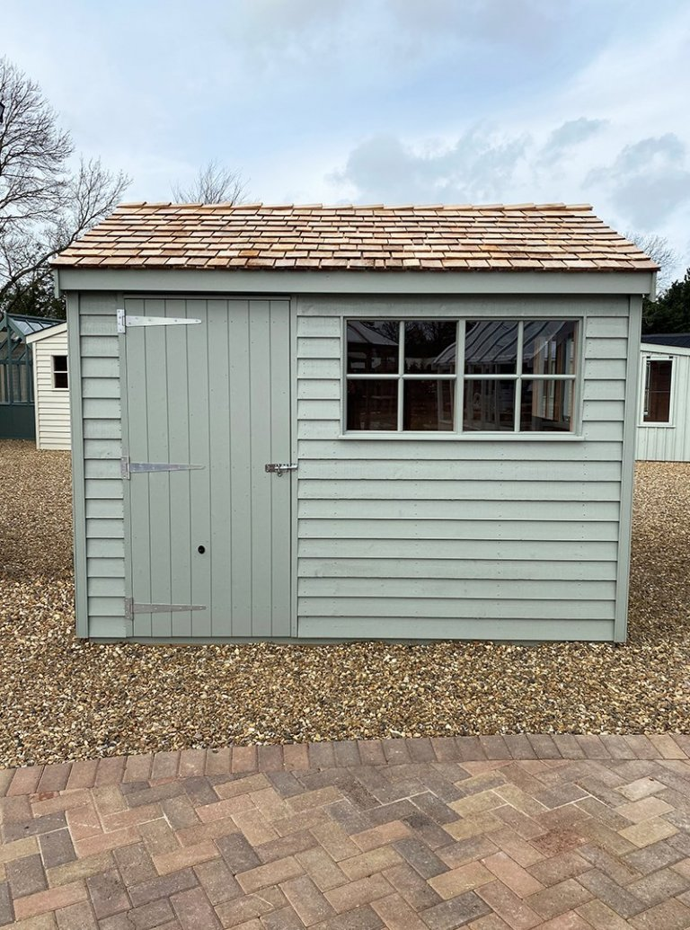 St Albans 2.4 x 3.0m Weatherboard Superior Shed