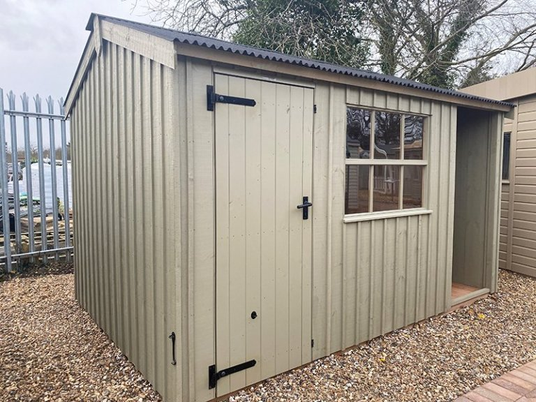 2.4 x 3.6m Blickling National Trust Shed at St Albans