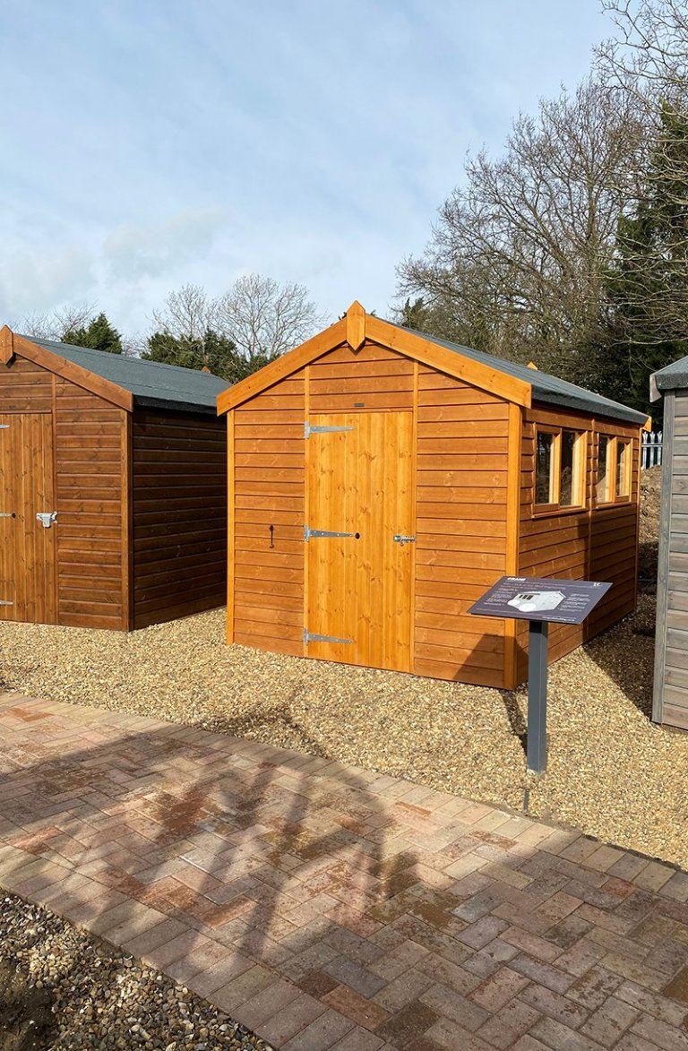 St Albans 2.4 x 3.6m Superior Shed