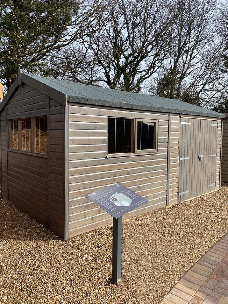 St Albans 3.0 x 4.8m Superior Shed