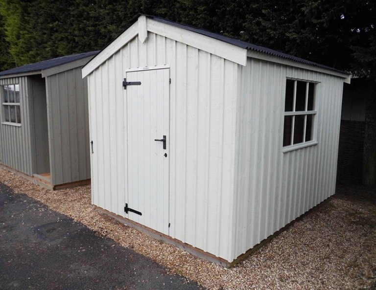 2.4 x 3.0m Peckover Shed at Burford