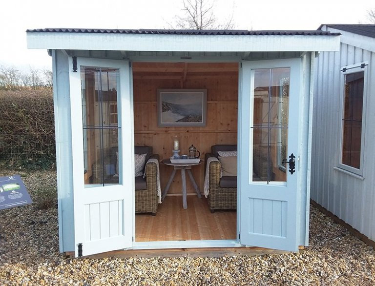 Brighton Flatford Summerhouse measuring 1.8 x 2.4m