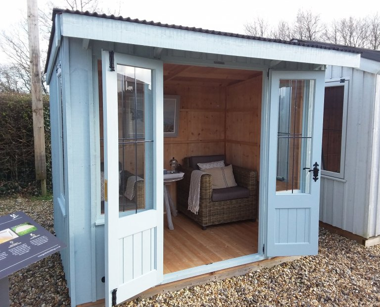 1.8 x 2.4m Brighton Flatford Summerhouse