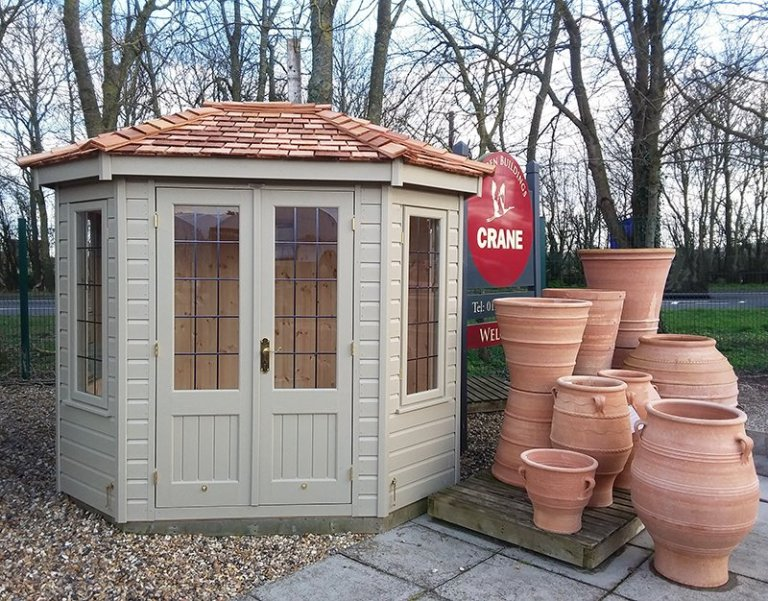 1.8 x 2.5m Wiveton Summerhouse at Brighton