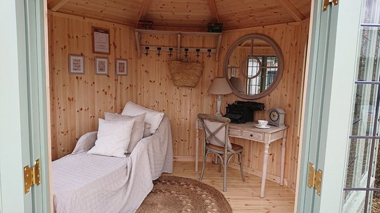 Inside the Newbury 3.0 x 3.0m Wiveton Summerhouse