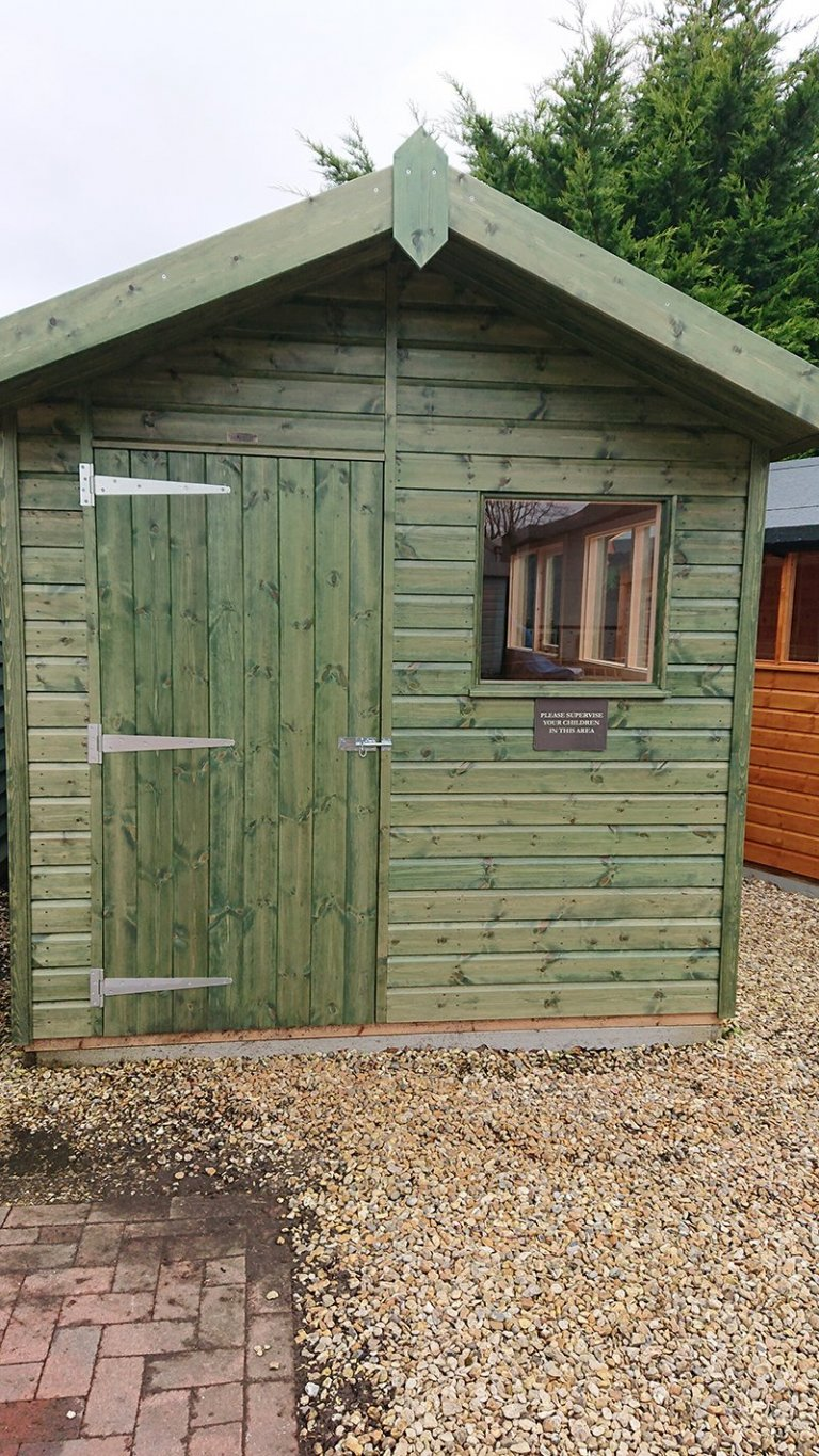 Newbury 2.4 x 3.6m Superior Shed