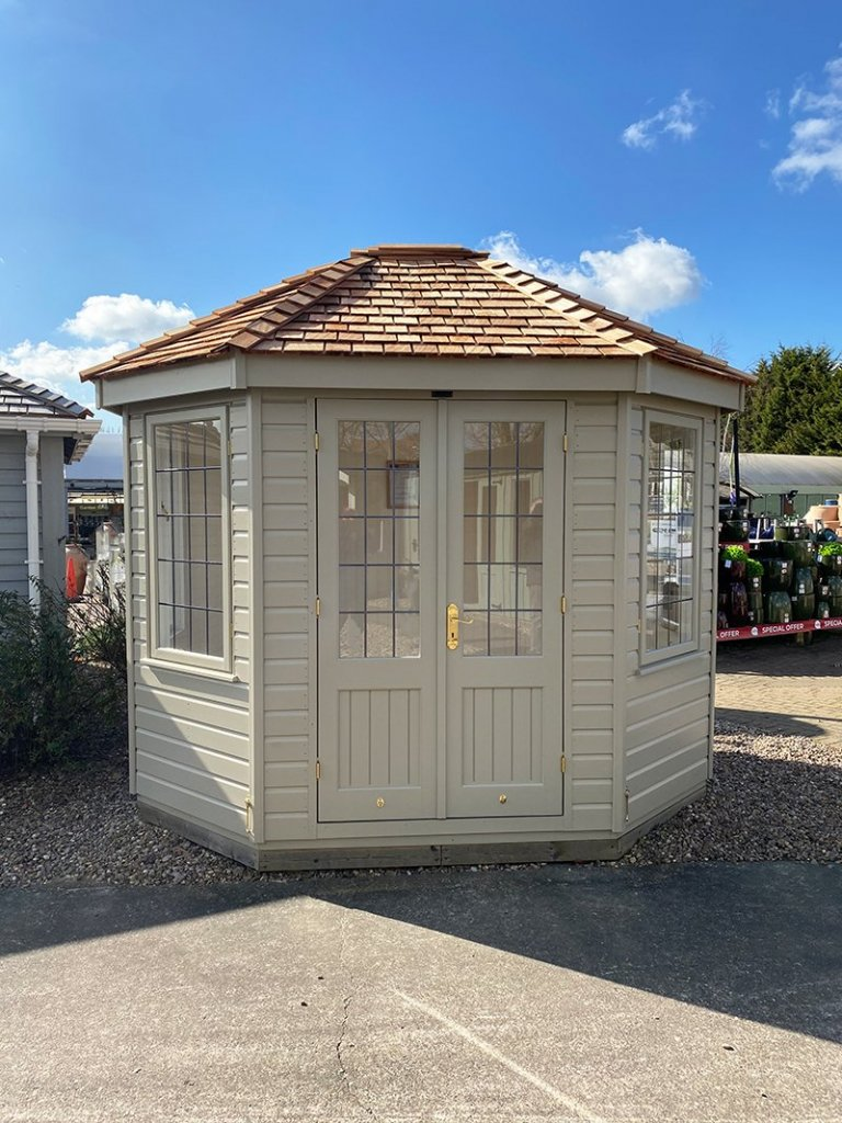 2.4 x 3.0m Wiveton Summerhouse at Nottingham