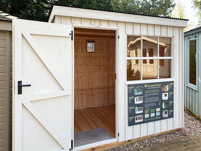 Trentham 1.8 x 2.4m National Trust Oxburgh Shed