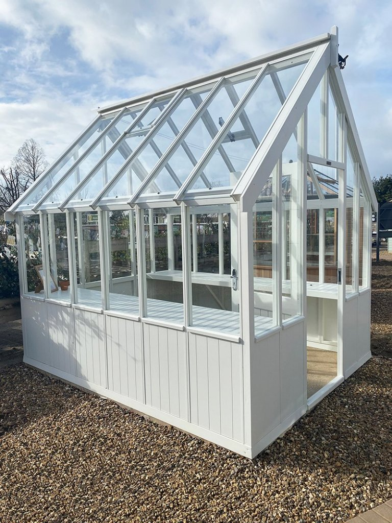 St Albans 2.4 x 3.0m Greenhouse