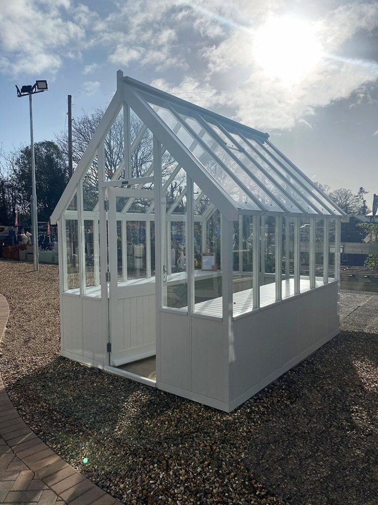 2.4 x 3.0m Greenhouse at St Albans