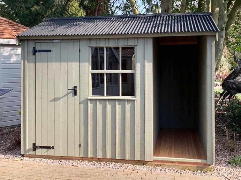 2.4 x 3.0m Blickling Shed at Trentham