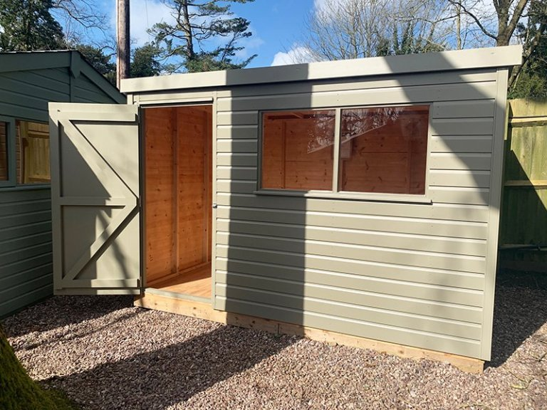 Trentham 1.8 x 3.0m Pent Roof Classic Shed